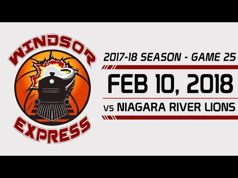 Windsor Express HIGHLIGHTS vs Niagara - 2/10/18