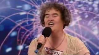 сьюзан бойл(Сьюзан Бойль - 47-летняя женщина с умопомрачительным голосом., 2009-04-24T12:08:27.000Z)