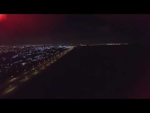 Phantom 3 Flying Over Sawgrass on New Year's Eve