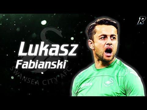 Łukasz Fabiański 2017/18 Amazing Saves - Swansea city AFC