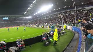 CR7 amazing gol Live curva nord  JUVENTUS REAL MADRID 3/4/2018