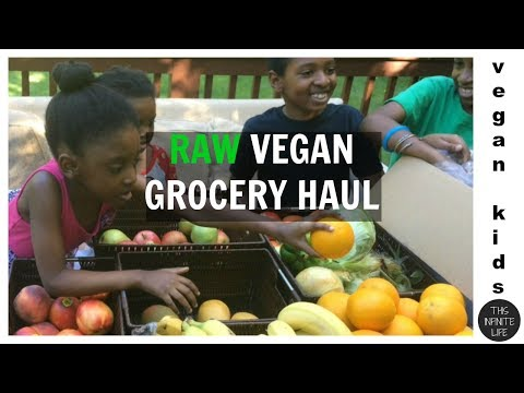 VLOG #5: CHEAP ORGANIC RAW VEGAN GROCERY HAUL! (HOME DELIVERY!!)