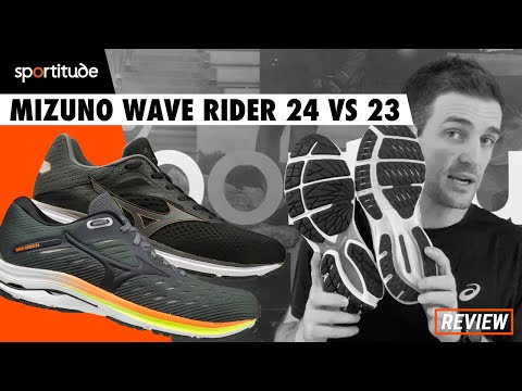 Mizuno Wave Rider 24 vs 23 Comparison Shoe Review | Sportitude