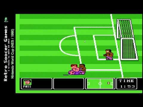 Retro Soccer Games  Road to EM 2012  Nintendo World Cup NES1990