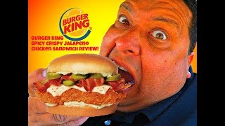 BURGER KING® Introduces The New Spicy Crispy Jalapeno Chicken Sandwich!