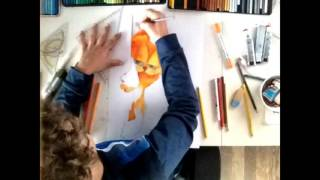Drawing Garfield || BarkyTube