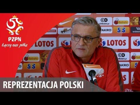 Konferencja reprezentacji Polski przed meczem ze Szkocją (07.10.2015)