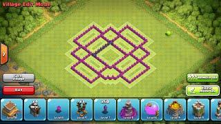 Clash Of Clans- Town Hall 7 Farming Base Speed Build (Vortex)