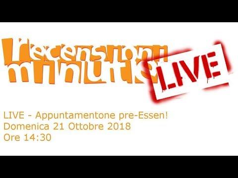 Recensioni Minute Live - Puntatone pre-Essen 2018