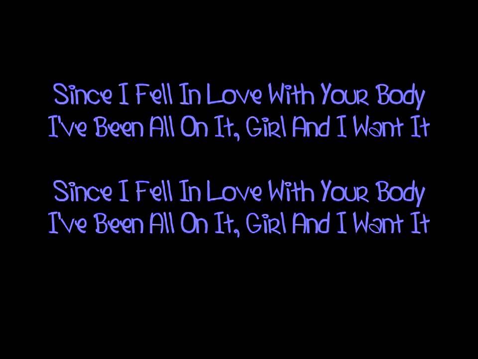I Fell In Love With Love Lyrics