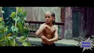 Treinamento de Jaden Smith com Jackie Chan