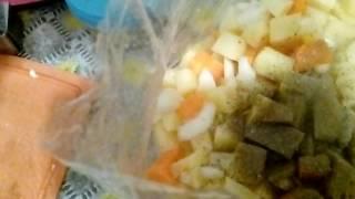 Постное Овощное Рагу Быстро и Легко