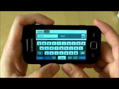Samsung Wave 525: Günstiges Touchscreen-Handy im Test