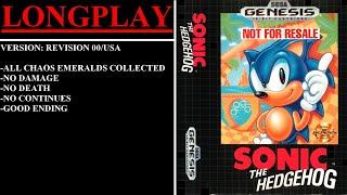 Sonic the Hedgehog (Sega Mega Drive / Genesis) - (Longplay)