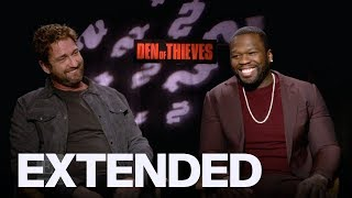 Gerard Butler, 50 Cent On 'Den of Thieves' | EXTENDED