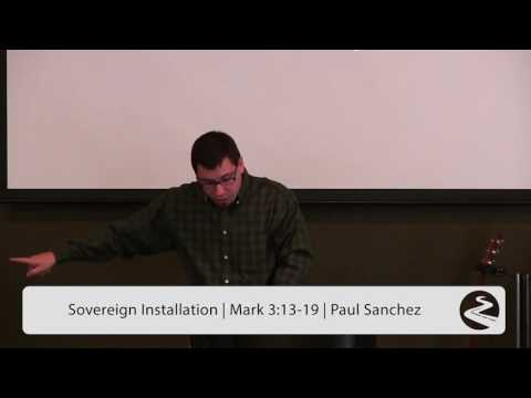 Sovereign Installation - Paul Sanchez (@emauschurch, @Paulsanchez408)