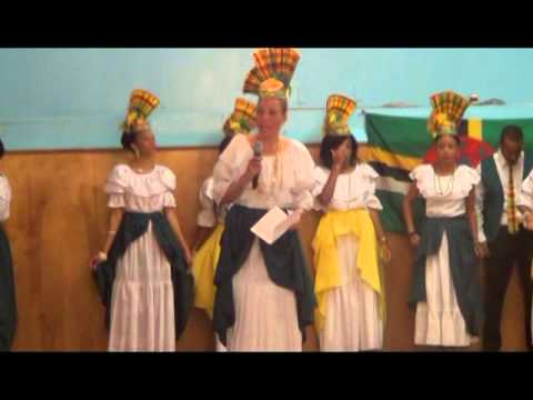 Dominica Cultural Dancers 2015