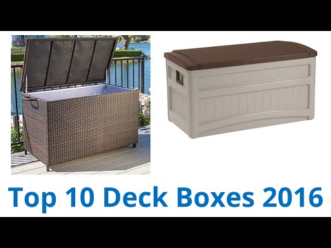 10 Best Deck Boxes 2016