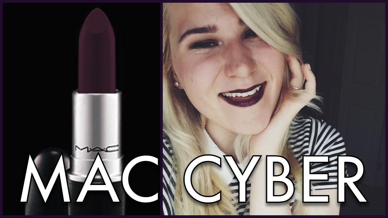 Conosciuto MAC CYBER Lipstick Review on Pale Skin - YouTube JL97