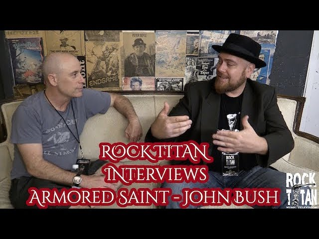 John Bush says time is right to have Armored Saint tour with ANTHRAX!