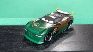 Mattel Disney Cars 3 2018 Conrad Camber #82 Shiny Wax Next-Gen Die-cast Review