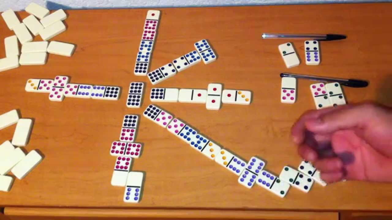Tutorial para jugar domino cubano o domino doble 9 Forma