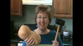 The Easy Way To Peel Butternut Squash - Jazzy Gourmet Cooking Studio