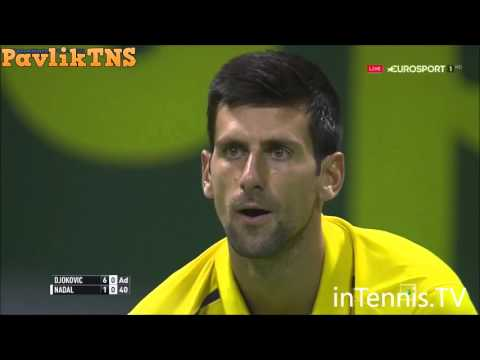 Novak Djokovic vs Rafael Nadal Highlights ᴴᴰ DOHA 2016 FINAL