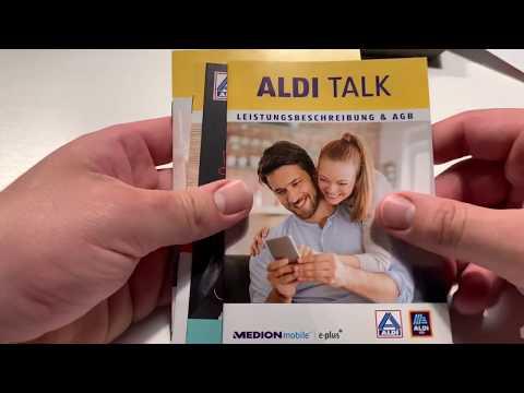 Aldi Talk (E-Plus) Prepaid Mobilfunk Vertrag einrichten und anmelden von Anfang bis Ende Anleitung