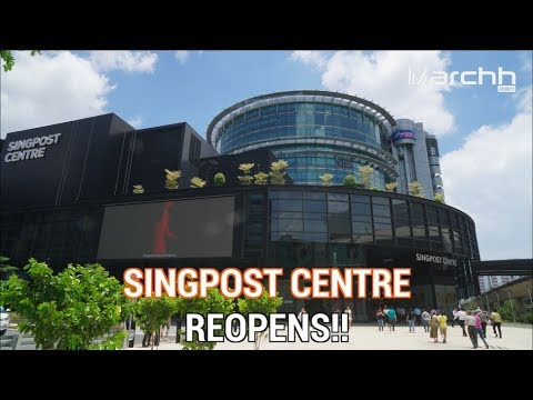 Singpost Center Reopens With Double The Retail Space