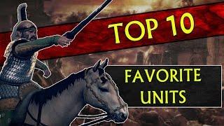 My Top 10 FAVORITE UNITS In Total War: Rome 2