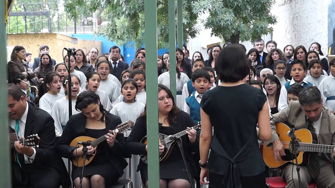 Coro de niños plantilla oficial Jotabeche en Hogar Galvarino parte 2 ...