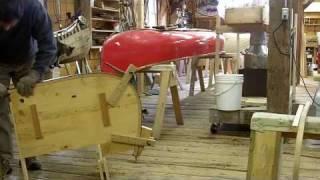 Wood Canvas Canoe Building