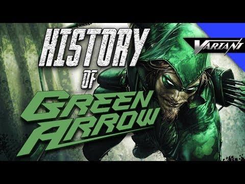 History Of Green Arrow!