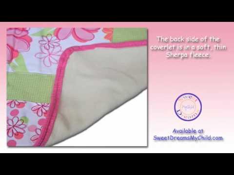 Trend Lab Hula Baby Hawaiian Crib Bedding