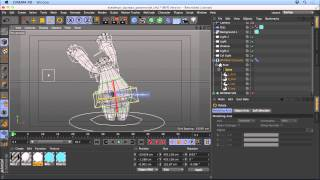 Cinema 4D Tutorial - Animating Characters Using Pose Morph Tag
