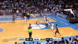 Bobby Dixon Turkish Playoffs 2015