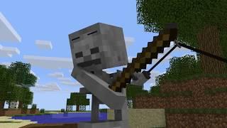 Minecraft Animation  Biggest Fish In Minecraft