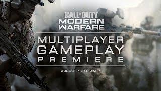 Call of Duty: Modern Warfare - Multiplayer Premiere