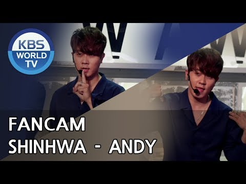 [FOCUSED] SHINHWA's ANDY  - All Your Dreams [Music Bank / 2018.06.29]