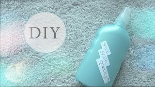 DIY: sea salt spray | The Beauty Division Thumbnail
