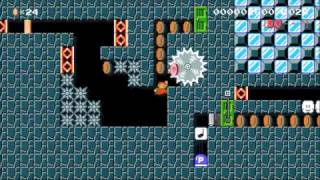 [10sec企画]誰でモ楽しめる超お手軽30秒SPEEDRUN♪: Beating Super Mario Maker's Super Expert Levels!