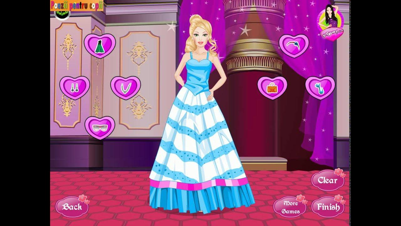 Barbie Jocuri De Imbracat 2015 Machiaj Pentru Barbie Youtube