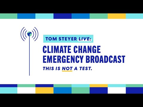 This is Not a Test: Climate Change Emergency Broadcast