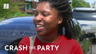 The 23-Year-Old Political Candidate Turned Rapper | #CrashTheParty