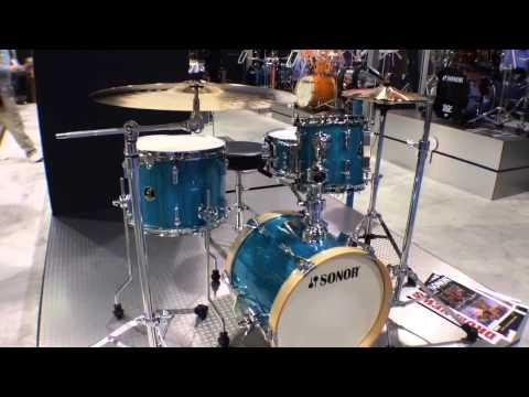 2014 Winter NAMM Sonor Drums Martini Kit
