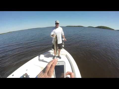 Lil John and The Silver Minnow; Everglades Backcountry Fishing and Camping