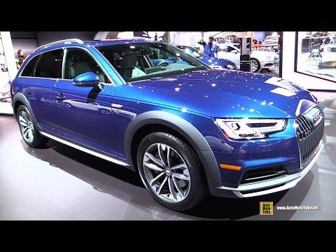 2017 Audi A4 Allroad Quattro - Exterior and Interior Walkaround - 2016 LA Auto Show