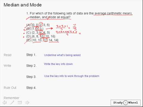 SAT Math Lesson 8 - Data Analysis - YouTube