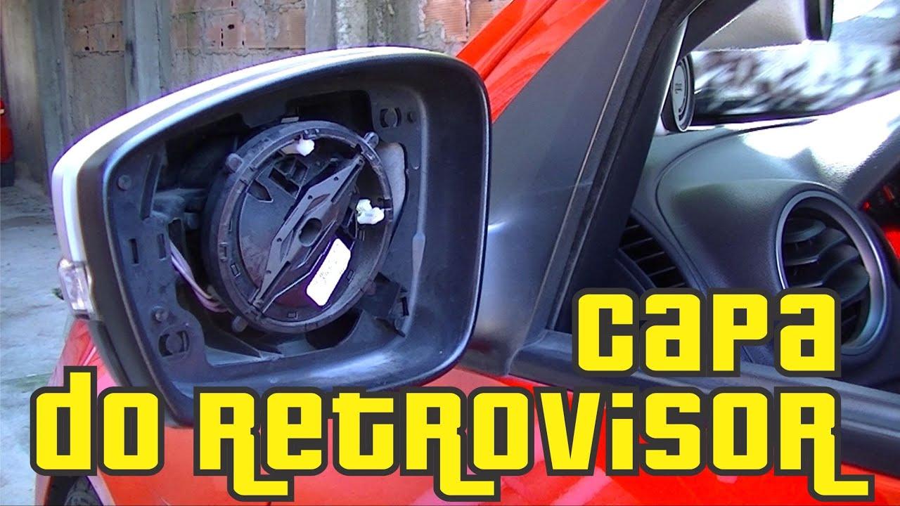 Como Retirar a Capa do Retrovisor - Gol G5 e G6